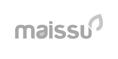 Logotipo en gris de Maissu