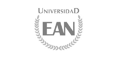 Logotipo en gris de Universidad EAN