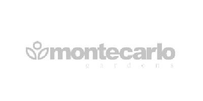 Logotipoen gris de Montecarlo Gardens