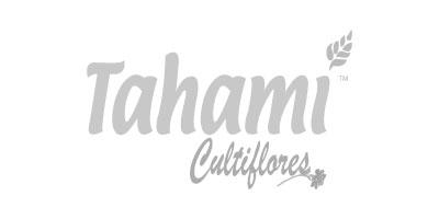 Logotipo en gris de Tahami Cultiflores