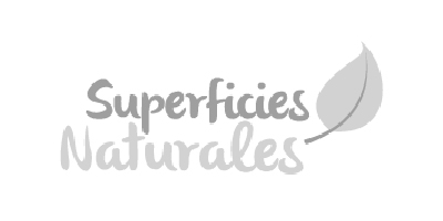 Logotipo en gris Superficies Naturales